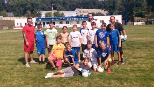2019-08-25 Soustředění mladší žáci